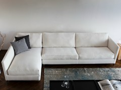 - Fabric sofa with chaise longue 910 ZONE SLIM | Sofa with chaise longue - Vibieffe