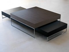 - Low wooden coffee table 9500 - 27, 28 | Coffee table - Vibieffe