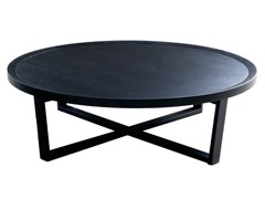 - Round wooden coffee table 9500 - 36 | Wooden coffee table - Vibieffe