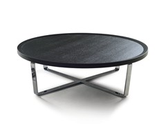 - Round wooden coffee table 9500 - 38 | Coffee table - Vibieffe
