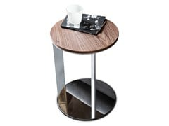 - Round wooden coffee table 9500 - 7 | Side table - Vibieffe
