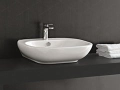 - Single washbasin ABC | Countertop washbasin - Hidra Ceramica