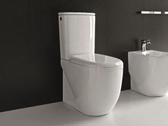 - Ceramic toilet ABC | Close coupled toilet - Hidra Ceramica