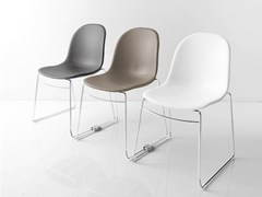 - Stackable training chair ACADEMY | Training chair - Calligaris