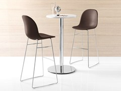 - Sled base counter stool ACADEMY | Counter stool - Calligaris