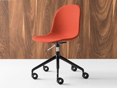 - Task chair with 5-Spoke base with casters ACADEMY | Task chair with 5-Spoke base - Calligaris