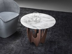 Tavolino rotondo in marmoACHEI | Tavolino - ARIANNASOLDATI