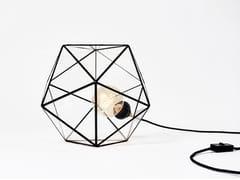 Lampada da tavolo a luce diretta in vetroACQUA | Lampada da tavolo in vetro - BIGDESIGN
