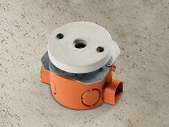 Presa elettrica singola in ceramicaACQUARIO | Presa coassiale - ALDO BERNARDI