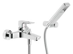Miscelatore per vasca a muro con doccettaACQUAVIVA | Miscelatore per vasca con doccetta - CARLO NOBILI RUBINETTERIE