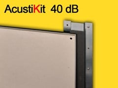 - Plasterboard Sound insulation and sound absorbing panel for false ceiling ACUSTIKIT 40 dB - GHIROTTO TECNO INSULATION