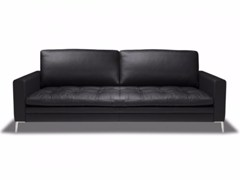 - 3 seater leather sofa ADONIS - Canapés Duvivier