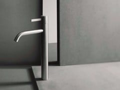 - Single handle washbasin mixer with brushed finishing AF/21 - A706WF - ABOUTWATER