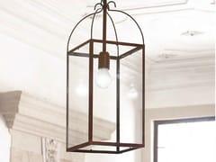 - Direct-indirect light brass pendant lamp AIDA - Aldo Bernardi