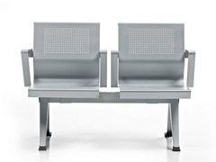 - Freestanding beam seating with armrests AIRA | Beam seating - D.M.