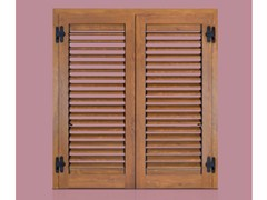 - Wooden shutter ALBA ADJUSTABLE - Cos.Met. F.lli Rubolino