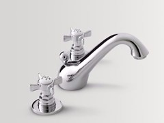 - 3 hole countertop washbasin tap ALDEN | Washbasin tap - BATH&BATH