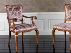 - Upholstered chair ALEXANDER | Chair with armrests - Arvestyle