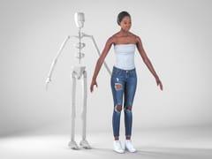 Modelli umani 3D fotorealisticiALISON RIGGED 001 - RENDERPEOPLE