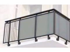 Parapetto in alluminio e vetro per finestre e balconiALL GLASS 40 - ALL MIX 40 - SIAMESI BY CASA ITALIA