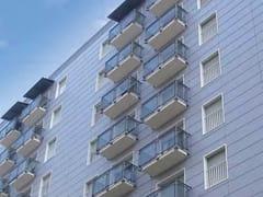 Parapetto in alluminio e vetro per finestre e balconiALL GLASS 60 - ALL MIX 60 - SIAMESI BY CASA ITALIA