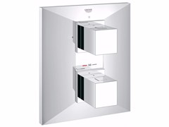 - 2 hole thermostatic shower mixer ALLURE BRILLIANT | Thermostatic shower mixer - Grohe