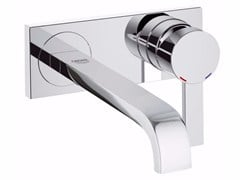 - 2 hole single handle washbasin mixer ALLURE 19386000 | Wall-mounted washbasin mixer - Grohe