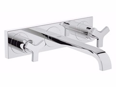 - 3 hole washbasin tap ALLURE SIZE M | Wall-mounted washbasin tap - Grohe