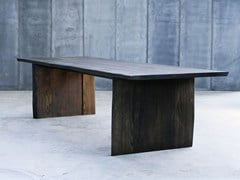 - Custom oak table ALTAR MTM - Heerenhuis