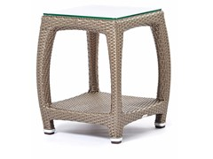 - Square garden side table ALTEA | Square coffee table - Varaschin