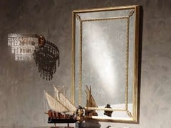 - Wall-mounted framed mirror ALYSSA | Mirror - Arvestyle