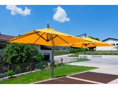 - Offset double adjustable Garden umbrella AMALFI DUO | Double Garden umbrella - Michael Caravita