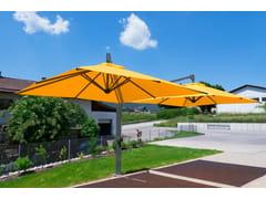 - Offset double adjustable Garden umbrella AMALFI DUO | Double Garden umbrella - Michael Caravita