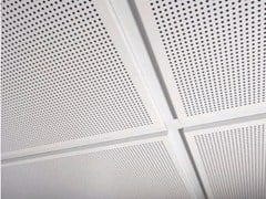 - Metal ceiling tiles AMF MONDENA® - System C - Knauf AMF Italia Controsoffitti