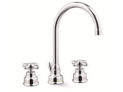 - 3 hole countertop washbasin tap ANTEA | Washbasin tap - NEWFORM