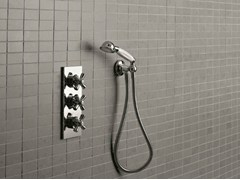 - 3 hole thermostatic shower mixer ANTICA | Thermostatic shower mixer - Signorini Rubinetterie