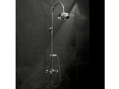 - Shower tap with hand shower with overhead shower ANTICA | Shower tap - Signorini Rubinetterie