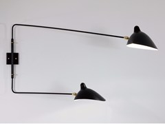 - Adjustable metal wall lamp AP2BD | Wall lamp - Editions Serge Mouille