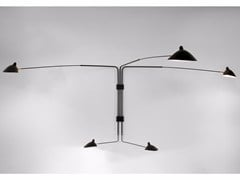 - Adjustable metal wall lamp AP5B | Wall lamp - Editions Serge Mouille