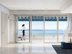Porta-finestra alzante scorrevole in querciaAPHRODITE | Porta-finestra alzante scorrevole - PAIL SERRAMENTI