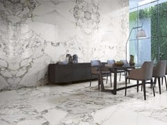 - Porcelain stoneware wall/floor tiles with marble effect ARABESCATO | Wall/floor tiles - FMG Fabbrica Marmi e Graniti