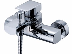 - Wall-mounted single handle bathtub / shower mixer ARCH | Bathtub mixer - JUSTIME