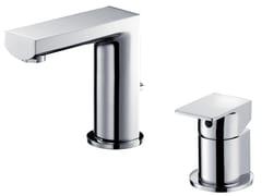 - 2 hole countertop chromed brass washbasin tap ARCH | Chromed brass washbasin tap - JUSTIME