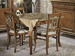 - Extending solid wood table ARMONIE | Square table - Arvestyle