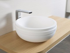 - Countertop round Krion® washbasin ARO | Countertop washbasin - Systempool