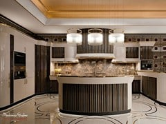 - Bespoke ebony kitchen ARROGANCE | Ebony kitchen - Modenese Gastone group