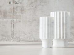 Vaso in marmo di CarraraARROKA - VERSANT EDITION