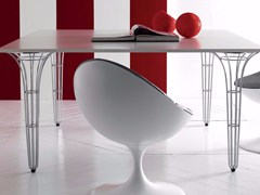 - Rectangular table ARTÙ | Table - Esedra by Prospettive