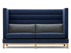 - Upholstered 3 seater high-back sofa ARTHUR | 3 seater sofa - Boss Design