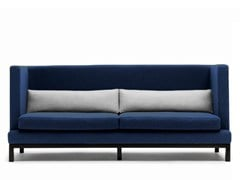 - Upholstered 3 seater fabric sofa ARTHUR | Upholstered sofa - Boss Design